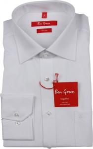 Koszula Ben Green z bawełny z długim rękawem