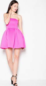 Różowa sukienka sukienki.pl mini