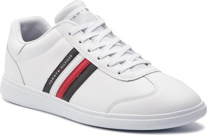 94438f6d4ca2c Sneakersy TOMMY HILFIGER - Essential Corporate Cupsole FM0FM02038 White 100