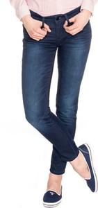Granatowe jeansy Tommy Hilfiger w stylu casual