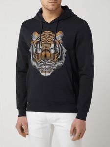 Czarna bluza Antony Morato z nadrukiem