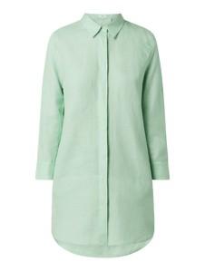 Zielona koszula Nadine H w stylu casual z lnu