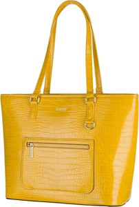 Żółta torebka PUCCINI na ramię