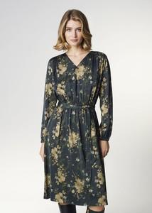 Sukienka Ochnik z długim rękawem w stylu casual