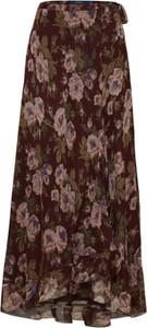 Spódnica POLO RALPH LAUREN w stylu boho z jedwabiu