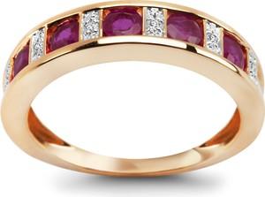 2971ce41ecece3 złoty pierścionek z rubinem - stylowo i modnie z Allani