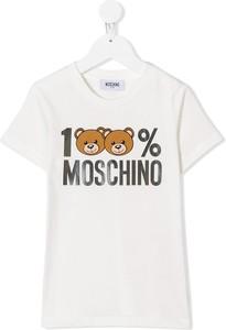 Koszulka dziecięca Moschino Kids z krótkim rękawem