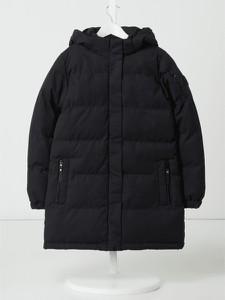 Czarny płaszcz dziecięcy Cars Jeans