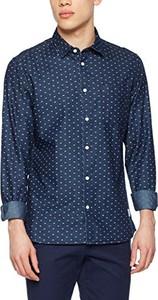Niebieska koszula Solid