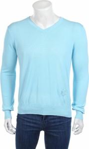 Niebieski sweter Patrick Hellmann