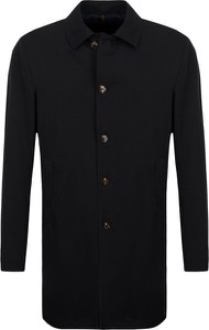Czarny płaszcz męski Joop! z wełny