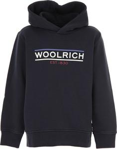 Granatowa bluza dziecięca Woolrich