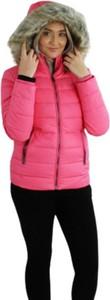 Różowa kurtka Tommy Jeans w stylu casual