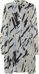 Sukienka InWear z dekoltem w kształcie litery v z długim rękawem w stylu casual