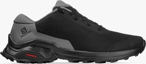 Czarne buty trekkingowe Salomon sznurowane