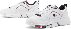 Buty sportowe Champion ze skóry ekologicznej sznurowane
