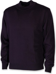 Czarny sweter Willsoor w stylu casual