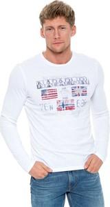 T-shirt Napapijri z długim rękawem
