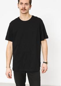 Czarny t-shirt Nike z krótkim rękawem z żakardu