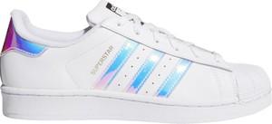 Trampki Adidas ze skóry superstar niskie
