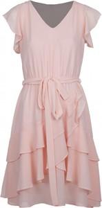 Sukienka VISSAVI z szyfonu