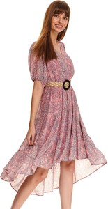 Sukienka Top Secret z krótkim rękawem midi