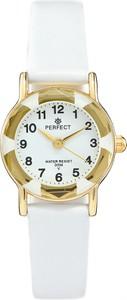 Zegarek na komunię damski PERFECT - L248-3A -biały