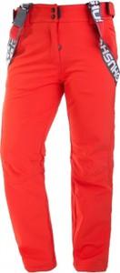 Pomarańczowe spodnie sportowe HUSKY w sportowym stylu