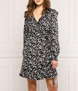 Sukienka Michael Kors z jedwabiu mini w stylu casual