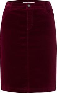 Czerwona spódnica Brax w stylu casual