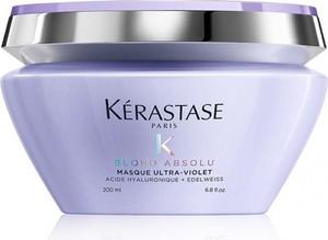 Kerastase Blond Absolu Ultra-Violet | Maska minimalizująca żółty odcień włosów blond 200ml