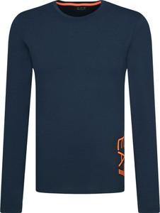 T-shirt Emporio Armani z długim rękawem