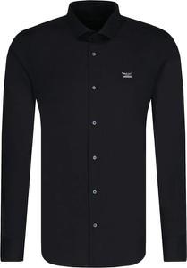 Czarna koszula Philipp Plein z długim rękawem