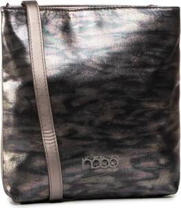 Brązowa torebka eobuwie.pl na ramię w młodzieżowym stylu