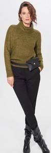 Zielony sweter Mohito w stylu casual