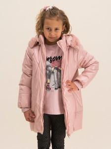 Różowa kurtka dziecięca Mayoral dla dziewczynek
