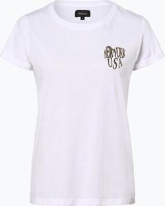 T-shirt Aygill`s w stylu casual z krótkim rękawem
