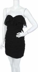Czarna sukienka Sunny Girl mini gorsetowa
