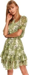 Sukienka Top Secret z krótkim rękawem mini