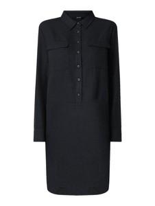 Czarna sukienka Opus mini w stylu casual