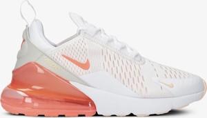 Buty sportowe Nike ze skóry air max 270 z płaską podeszwą