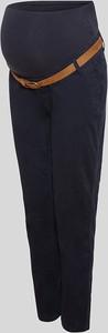 YESSICA C&A Ciążowe spodnie chino z paskiem, Niebieski, Rozmiar: 34