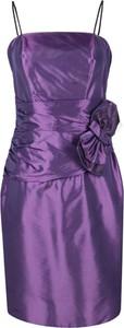 Fioletowa sukienka Fokus tulipan midi
