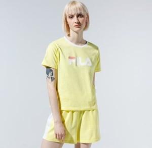 T-shirt Fila z okrągłym dekoltem