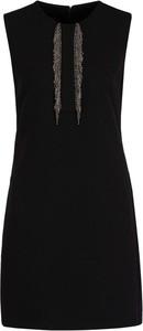 Czarna sukienka Pinko bez rękawów