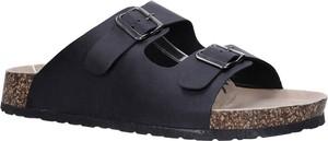 Granatowe buty letnie męskie Casu w stylu casual