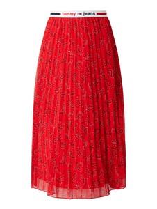 Czerwona spódnica Tommy Jeans