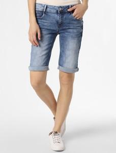 Niebieskie szorty STREET ONE z jeansu