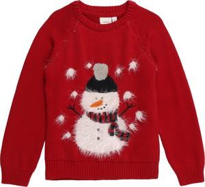 Czerwony sweter Name it
