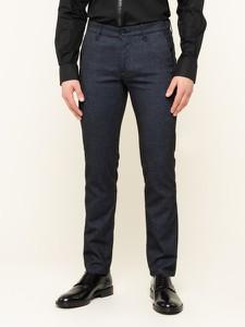 Granatowe spodnie Karl Lagerfeld